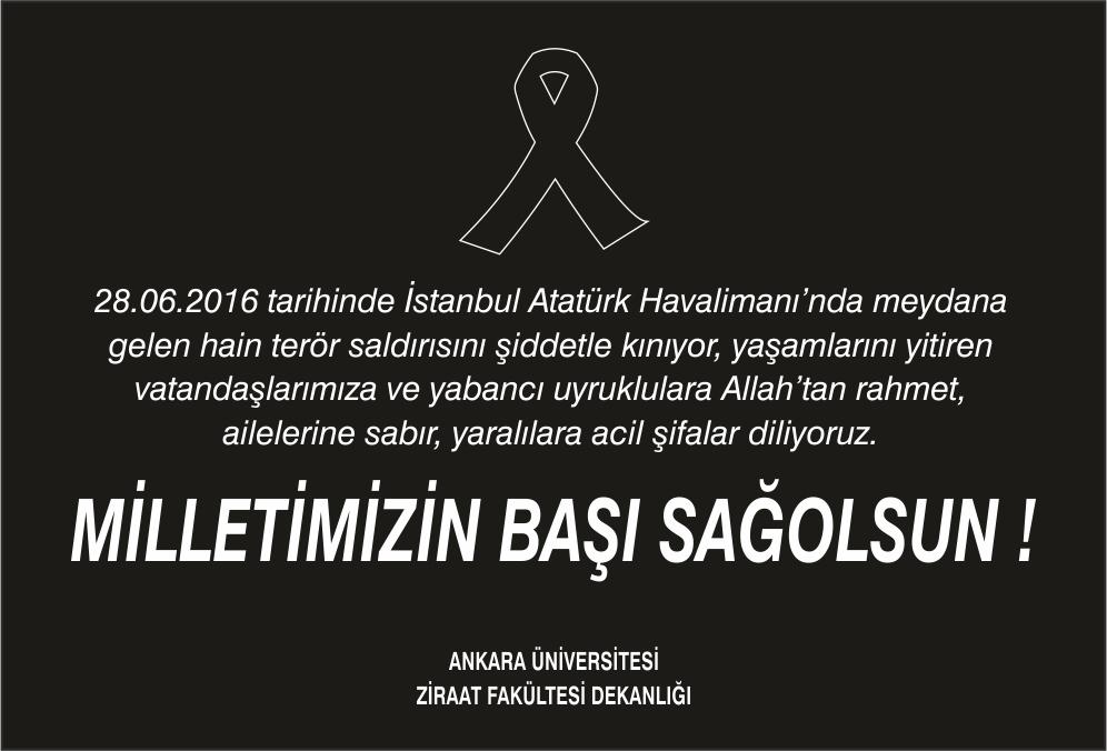 Atatürk Havalimanı Terör Saldırısı
